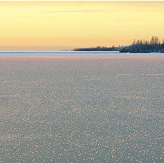 "фото ""Frozen see near arctic circle"""