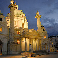 "photo ""The Karlskirche in Wien"""