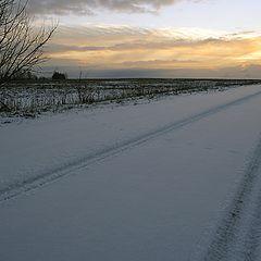 """photo """"Rural road"""""""