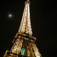"""фото """"Eiffel at night"""""""