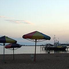 "фото ""приходите завтра! пляж отдыхает..."""
