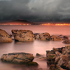 "фото ""Magic night on the beach"""