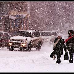"""фото """"Снегопад 01"""""""