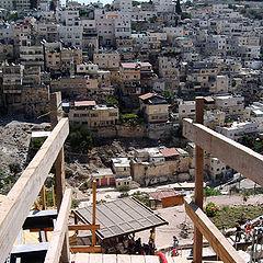 """фото """"Вид на  Иерусалим. Окрестности Старого Города."""""""