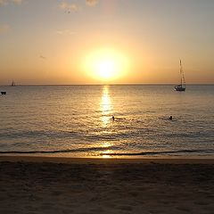 """фото """"Sunset view from BEACH"""""""