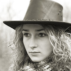 "photo ""Nastya (grown daughter ...)"""