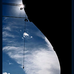 """фото """"In the blue of the sky..."""""""