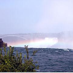"photo ""Rainbow over Niagara"""