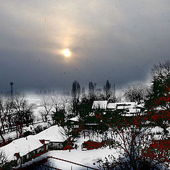 """фото """"Снег выпал только в феврале"""""""