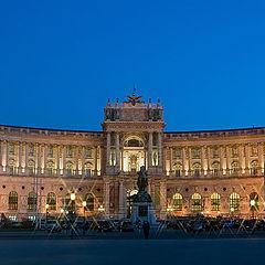 "photo ""Hofburg lights fires"""