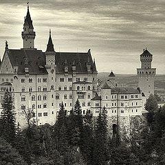 """фото """"Замок Neuswanstein."""""""