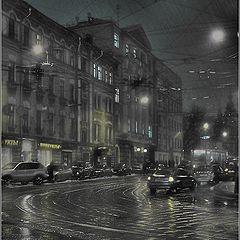 """фото """"ночной переулок"""""""