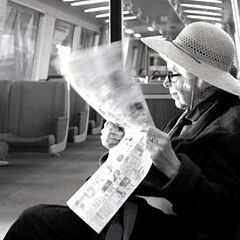 "фото ""Lady on the Train"""