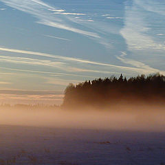 "фото ""Вечерный туман"""