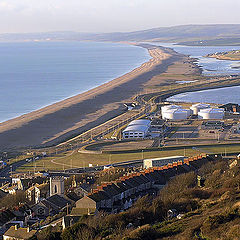 "photo ""Chesil Beach. Portland."""