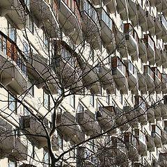 """фото """"Балконы по диагонали"""""""