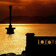 "фото ""Golden Sunset"""