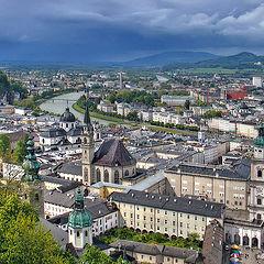 "photo ""City Salzburg. Austria"""