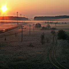 """фото """"Дороги и утро"""""""