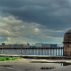 """photo """"A storm is gathering over SPb"""""""