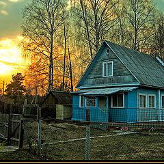 """фото """"Вечер в деревне"""""""