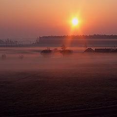 """фото """"Туман утром"""""""