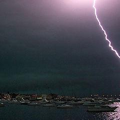 "фото ""Storm over Punta del Este"""