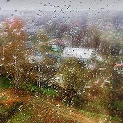 """фото """"За окном весенний дождь..."""""""