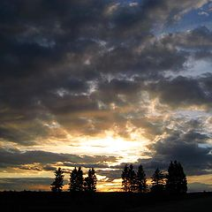"фото ""Весенний закат."""