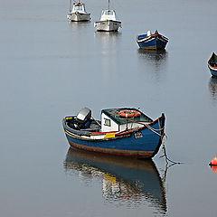 "photo ""Fishermans boats"""