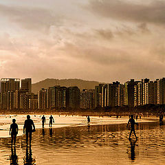"фото ""Walking in the seashore..."""