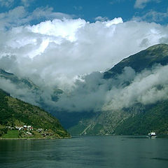 """фото """"The Clouds of Geiranger"""""""