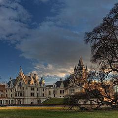 """photo """"The romantic castle"""""""