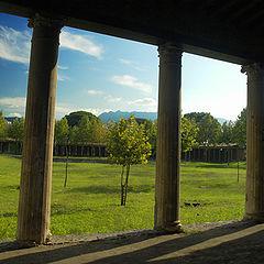 "photo ""Pompei - Palestra grande"""