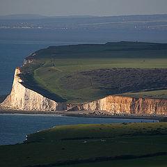 "фото ""Seven Sisters cliffs"""