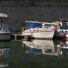 "фото ""Boats reflection"""