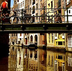 "фото ""Amsterdam Reflection 2"""