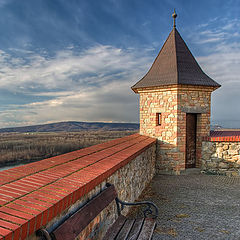 """photo """"Tower of a fortress"""""""
