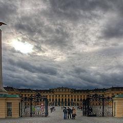 """photo """"Gleam above Shonbrunn"""""""