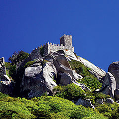 "photo """"The ruins of the Moorish Castle"""""