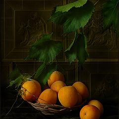 """фото """"Натюрморт с абрикосами"""""""