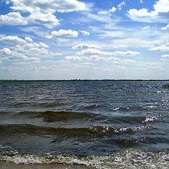 """фото """"Ветер с озера."""""""