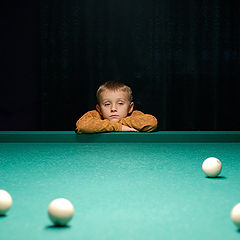 "photo ""Pool Player"""
