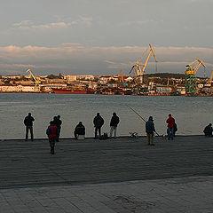 """фото """"Вечер на Графской пристани (Севастополь)"""""""