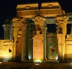 """фото """"Egyptian Temple at night ..."""""""