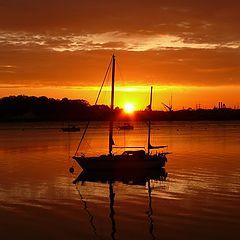 "фото ""Vivid sunrise"""