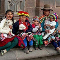 """фото """"Family of Cuzco"""""""