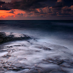 """фото """"Закаты Средиземного моря ..."""""""