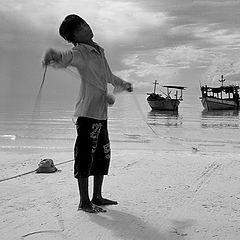 "фото ""Сын рыбака.."""