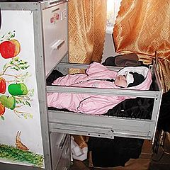 """photo """"Healthy sleep at daddies work"""""""